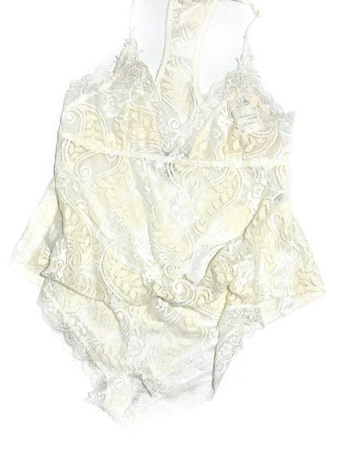 Linea Donatella | חולצת תחרה אופוויט לינאה דונטלה