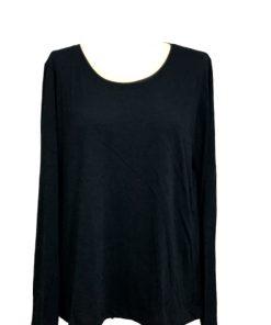 Jenni | חולצה שחורה פנג׳י ג׳ני