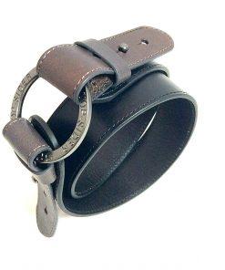 Sperry | חגורת ג׳ינס שחורה ספירי