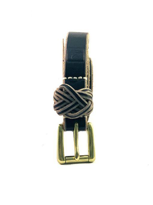 Sperry | חגורת עור שחורה ספירי