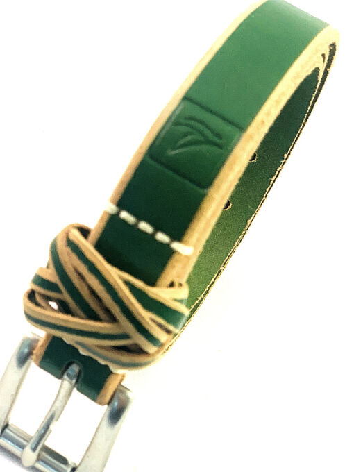 Sperry | חגורת עור ירוקה ספירי