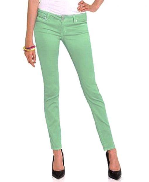 Celebrity Pink | מכנס סקיני ירוק סלבריטי פינק