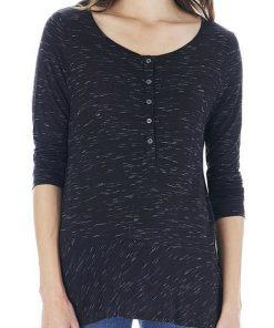 Bass | חולצת פפלום שחורה בס