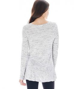 Bass | חולצת פפלום אפורה בס