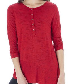 Bass | חולצת פפלום אדומה בס