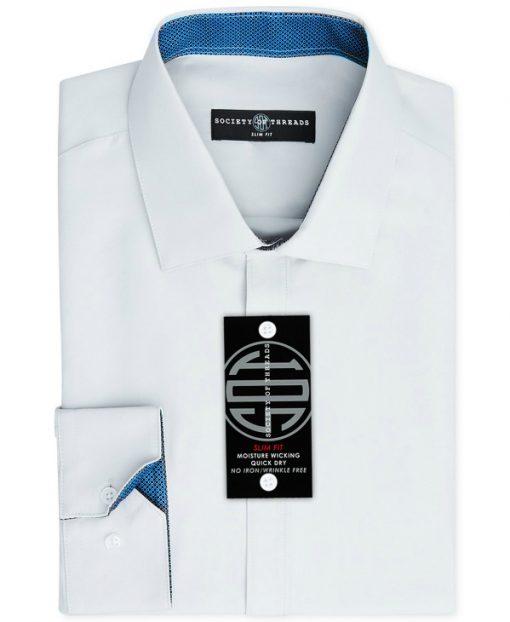 Society of Threads | חולצה מכופתרת לבנה סושיטי אוף טרידס