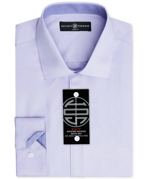 Society of Threads   חולצה מכופתרת סגולה סושיטי אוף טרידס