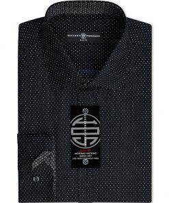 Society of Threads | חולצה מכופתרת שחורה סושיטי אוף טרידס