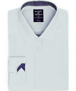 Society of Threads | חולצה מכופתרת אפורה סושיטי אוף טרידס