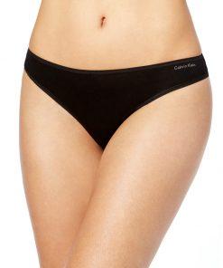 Calvin Klein | תחתון חוטיני שחור קלוין קליין