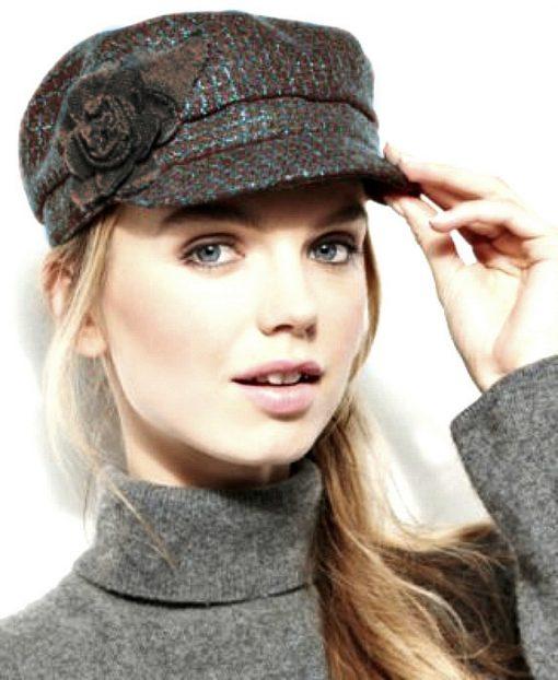 Collection | כובע קסקט חום/טורקיז קולקשיין