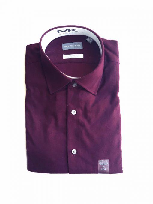 Michael Kors | חולצה מכופתרת בורדו מיקל קורס