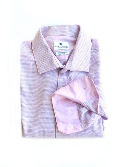 Ryan Seacrest | חולצה מכופתרת סגולה ראיין סיקרסט