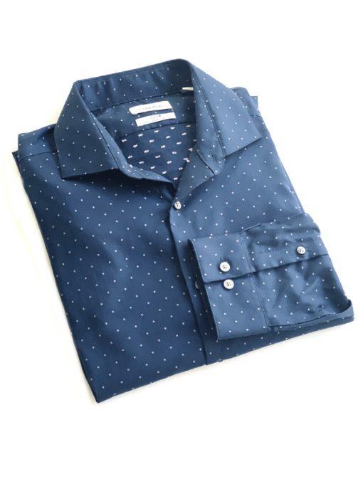 Calvin Klein | חולצה מכופתרת כחולה קלווין קליין