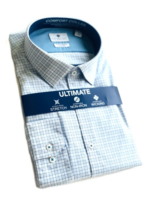 Ryan Seacrest   חולצת משבצות ראיין סיקרסט