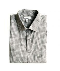 Bar | חולצה מכופתרת משבצות בר