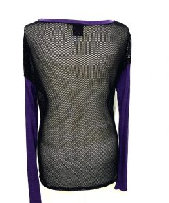 Material Girl | חולצת גב רשת מצ׳וריאל גרל