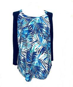 NYDJ | חולצה אמריקאית נשים אן וי די ג׳י