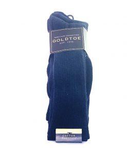 GoldToe | מארז 3 זוגות גרביים כחול גולדטוי