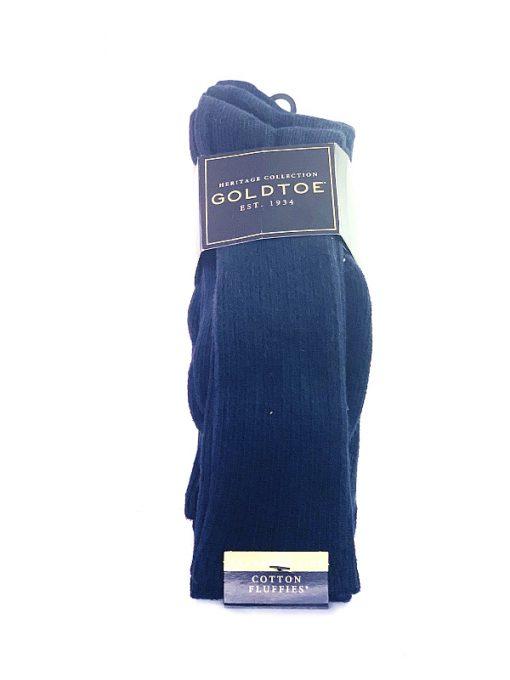 GoldToe   מארז 3 זוגות גרביים כחול גולדטוי