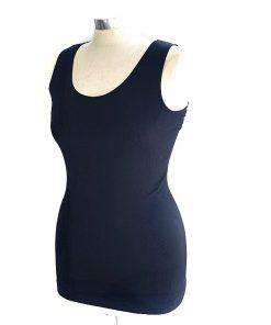 INC | חולצה שחורה צמודה איאנסי
