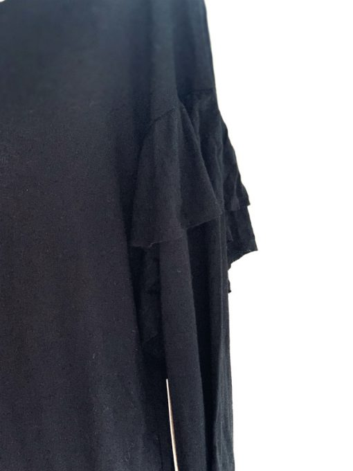 Vince Camuto   חולצה שחורה אופנתית וינס קמוטו