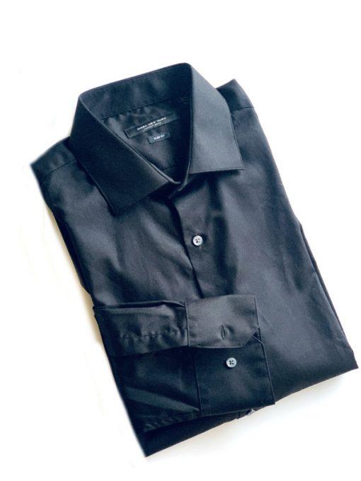 Marc New York | חולצה מכופתרת שחורה מארק ניו יורק