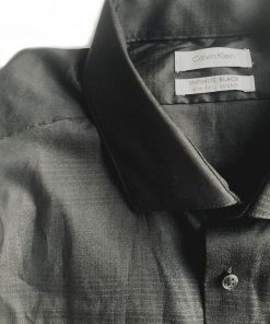 Calvin Klein | חולצה מכופתרת שחורה קלווין קליין