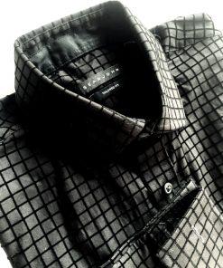 Sean John | חולצת מכופתרת שחורה סן ג'ון