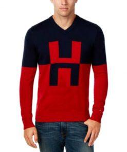Tommy HilfigerI | סוודר לוגו טומי הילפיגר
