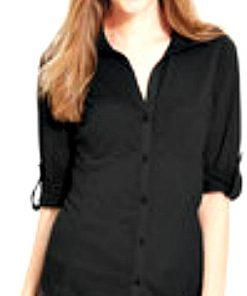 Almost Famous | חולצה שחורה אלמסט פיימוס