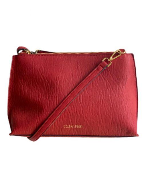 Calvin Klein | תיק צד אדום קלוין קליין
