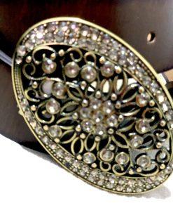 Style | חגורת אבזם משובץ סטייל
